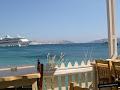 Petran Tavern, en la playa Agios Stefanos