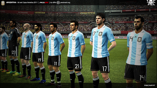 Argentina 11-12 Kitset - PES 2012