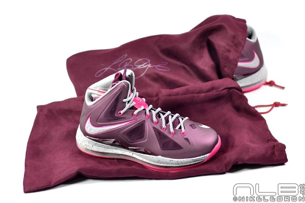 26344bd38eec8 The Showcase Nike LeBron X Fireberry 8220Crown Jewel8221 ...