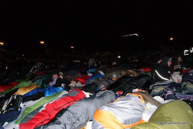 sleeping bags on april 24 at anzac cove