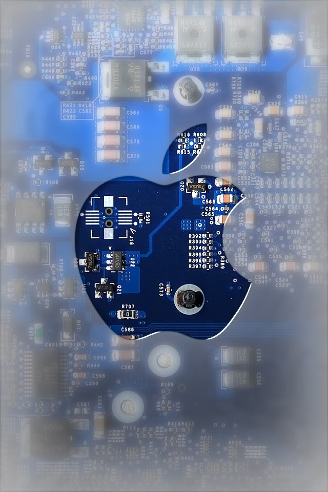 Apple iPhone Wallpapers Blue HD
