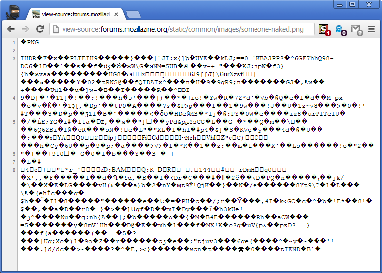 View source code if full image on screen • mozillaZine Forums