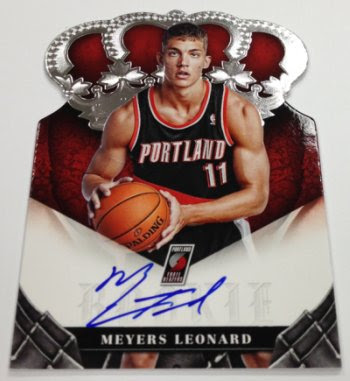 2012-13 Panini Preferred Meyers Leonard Auto RC