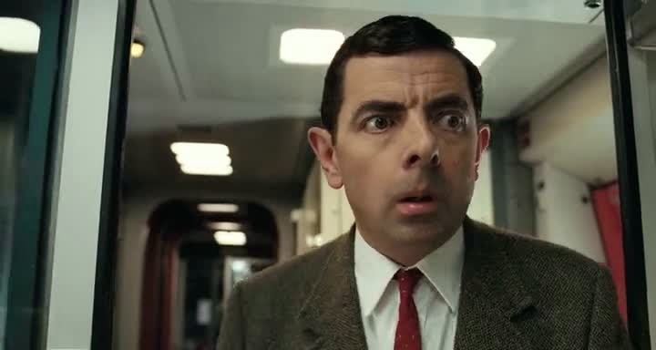 Screen Shot Of Hollywood Movie Mr. Bean's Holiday (2007) In Hindi English Full Movie Free Download And Watch Online at Alldownloads4u.Com