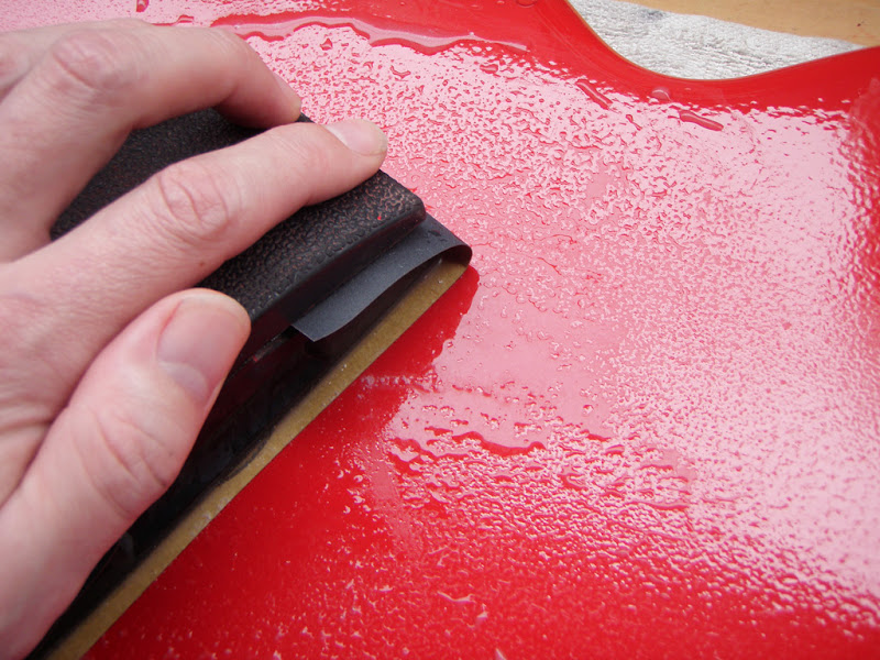 Wet Sanding Clear Coat >> Restoring a vintage Hofner Colorama II (lots of pics ...