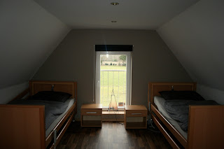 Wohnung 1, Ausblick aus dem Schlafzimmer