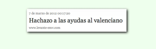 Font: Levante-EMV