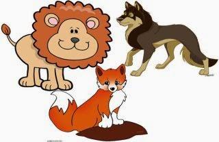 El león, la zorra y el lobo