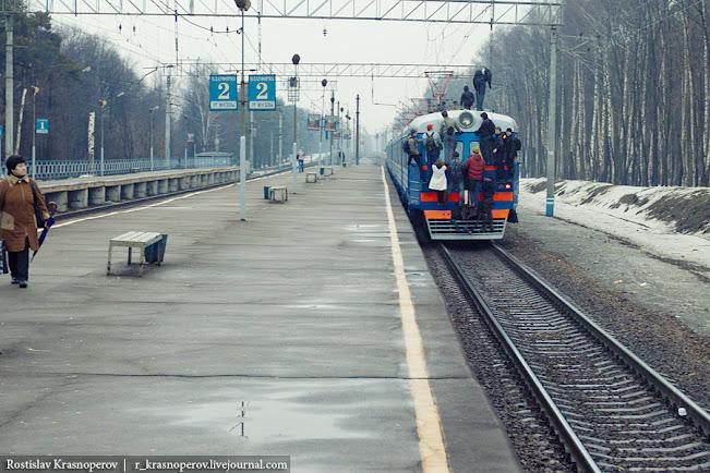 Русский транспорт прижимание к женским попами