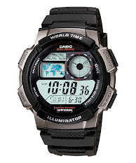 Jam Tangan Pria Tali Kulit Casio Standard : MTP-VS02GL-9A