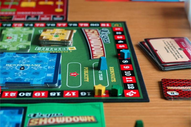 Настольная игра Vegas Showdown