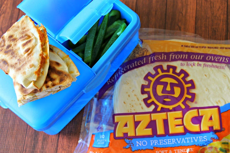 Back to School Lunchbox Ideas with an Easy Quesadilla Recipe