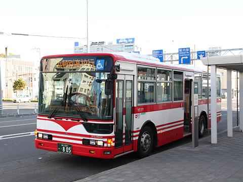 宗谷バス 天北宗谷岬線 ・805 稚内駅前発車前