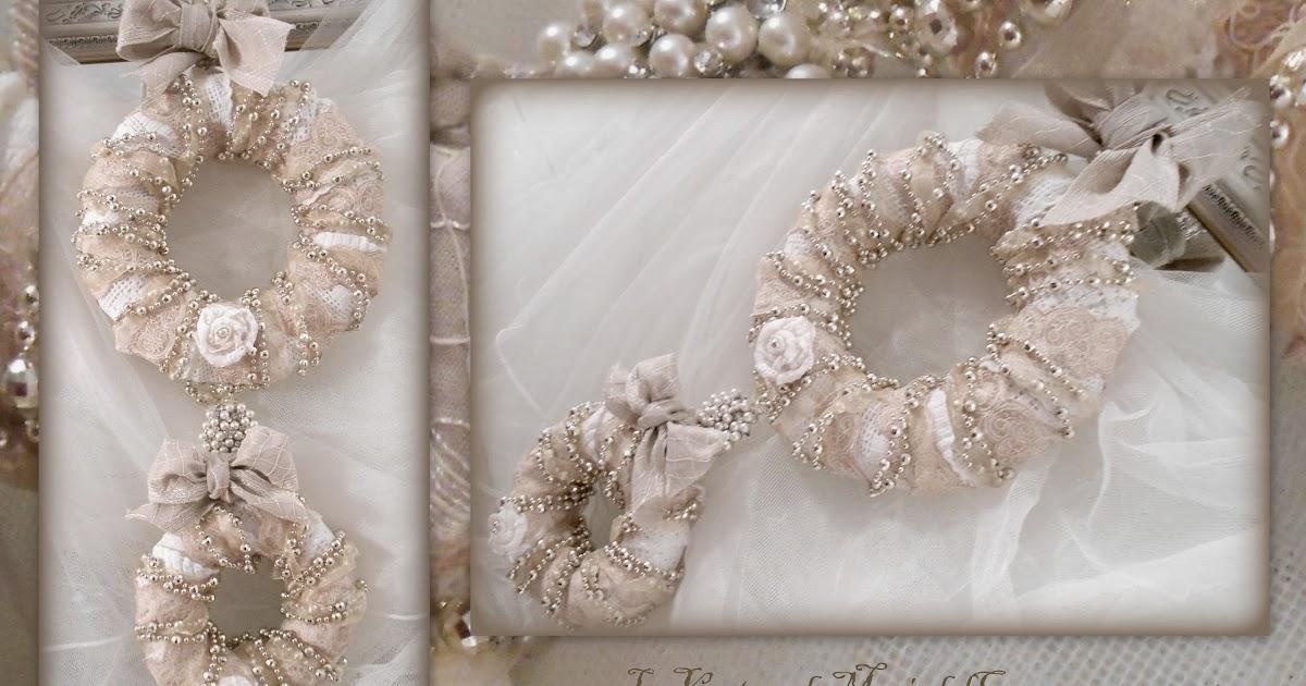 Manualidades la ventana de maria del carmen mis coronas - Estilo shabby chic manualidades ...