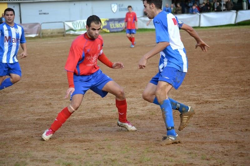 Teti nun lance do xogo fronte o Estrella (29/11/2014)