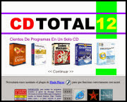 Menú CDTotal 12