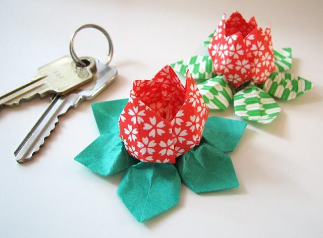 omiyage blogs diy origami lotus