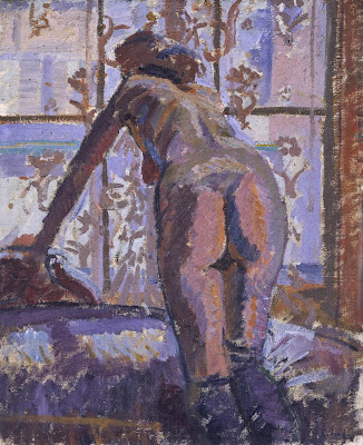 Harold Gilman - Nude at a Window