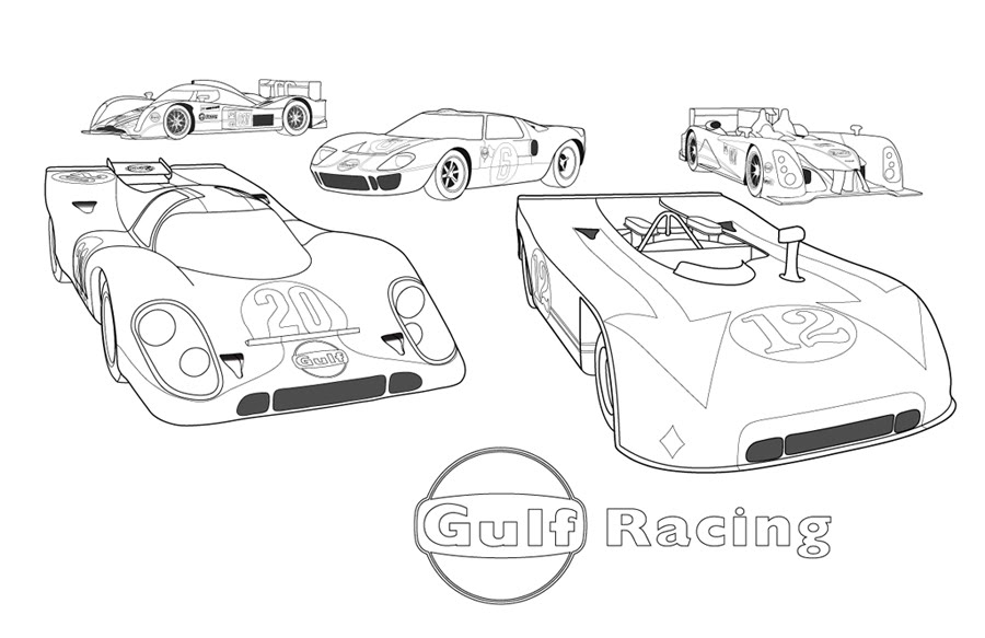 Various Cars Car Coloring Pages