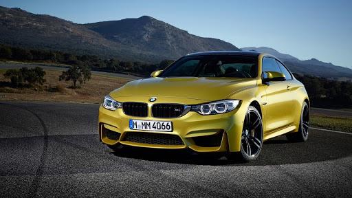 Yellow Car in Mountain