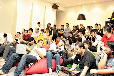 Full-house at Webcamp KL February 2012