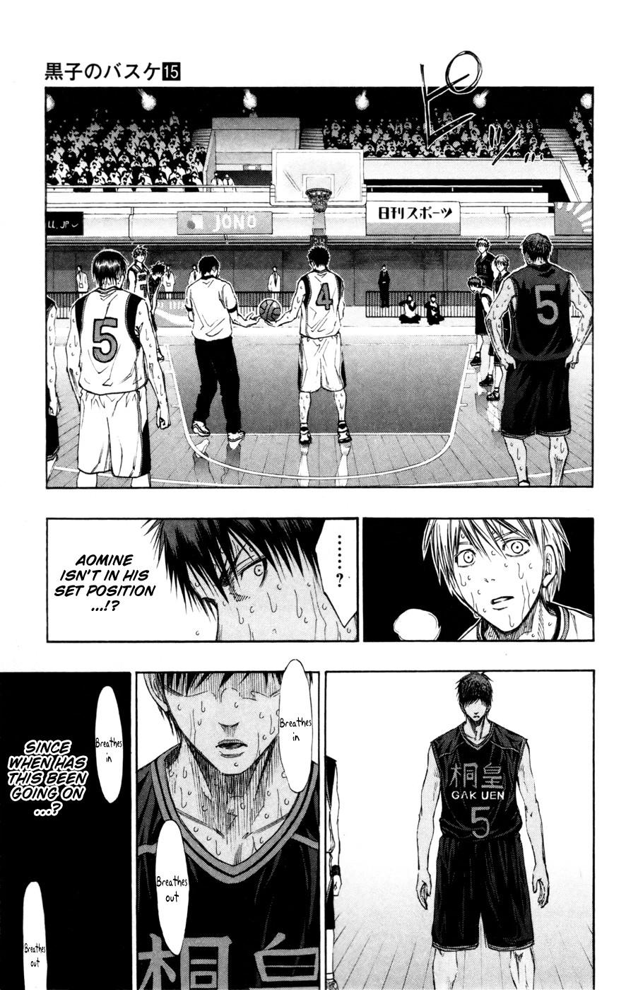 Kuroko no Basket Manga Chapter 133 - Image 07