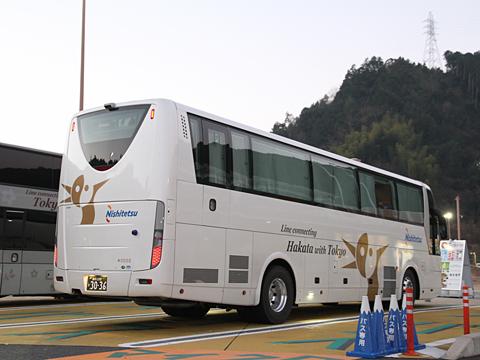 西日本鉄道「はかた号」 0002 リア