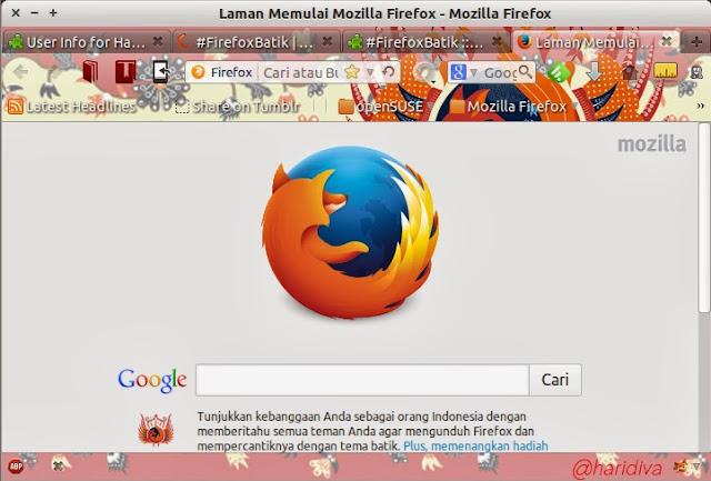 Firefox Batik