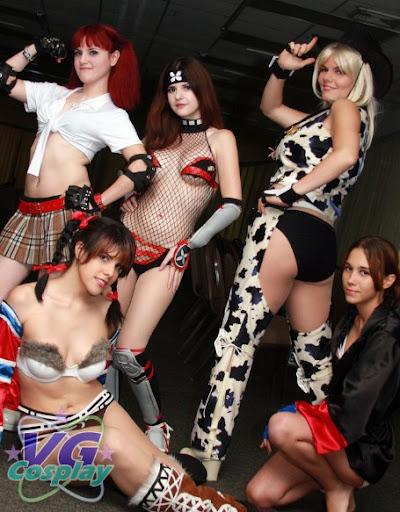 Cosplay da Semana: Rumble Roses