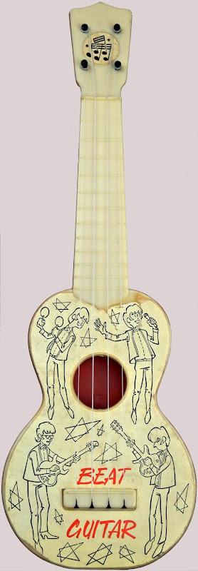 Beat Guitar T Plastics Plastic Soprano Ukulele