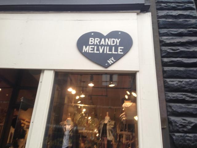 Find Brandy Melville near me at 44 Prince St, New York, NY to get Brandy Melville hours of operation, store location, driving direction, phone number, holiday hours and other service information.