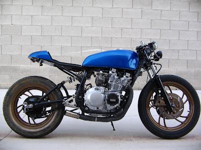 Cafe Racer Special  Yamaha XJ 550 Caf   Racer