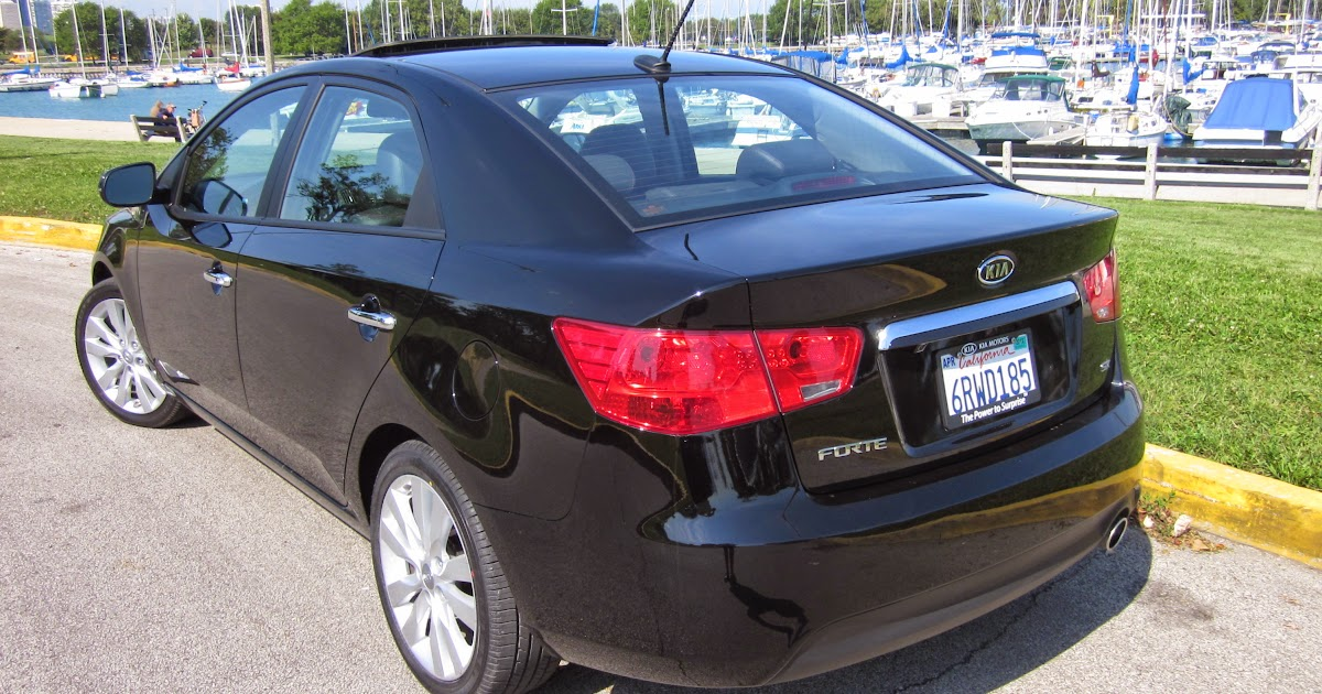 Syaiful Dev: kia forte 2012 black Cool