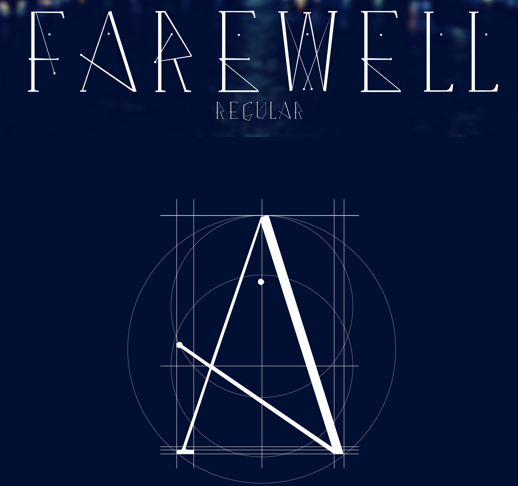 Farewell Regular Free Fonts