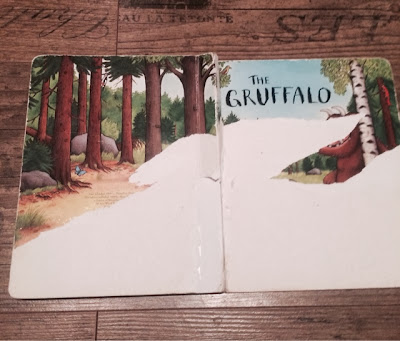The Gruffalo - now peeled.