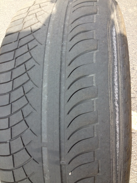 Land Rover Ranger Sport Tire Woes Inner Tire Wear Top View