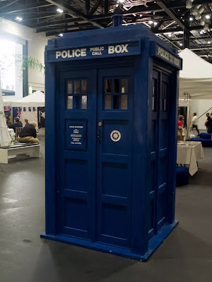 TARDIS at LonCon fan village