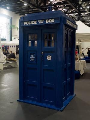 TARDIS at LonCon fan village