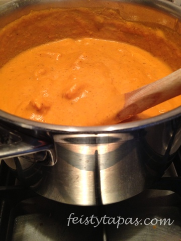 FEISTY TAPAS: Curry: Pollo a la mantequilla, Butter Chicken o Murgh ...
