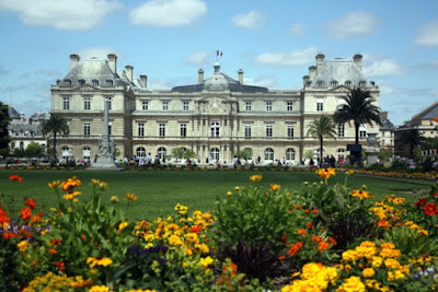 Jardin du Luxembourg in Paris France