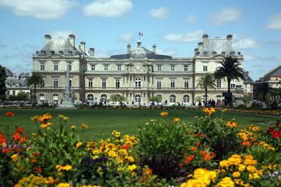 Jardin du Luxembourg in Paris France
