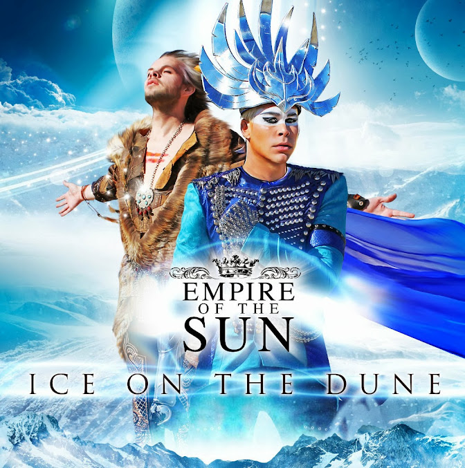 Empire of the Sun - Ice on the Dune album cover
