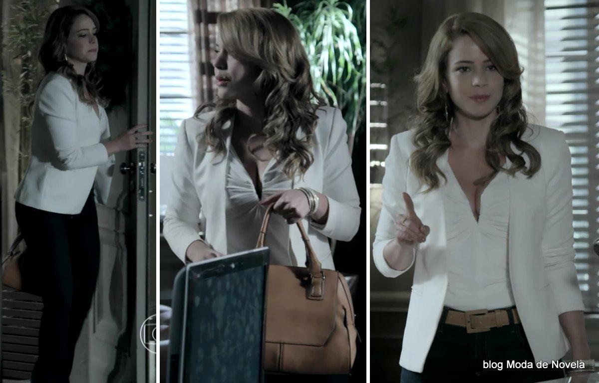 moda da novela Império, look da Cristina dia 7 de janeiro de 2015