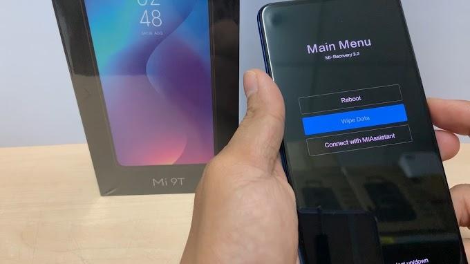 Hướng dẫn Hard Reset Xiaomi Mi 9T