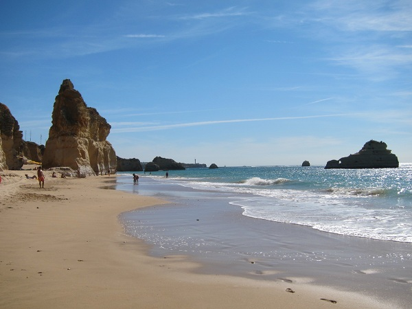 portugal algarve portimao atlantic ocean