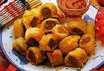 Bánh cuốn xúc xích
