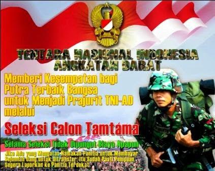 Kodam V/Brawijaya buka pendaftaran Catam TNI AD gelombang I TA 2015