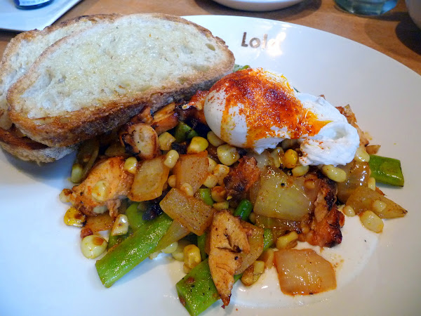 Tom's Big Breakfast octopus hash Brunch at Lola, Seattle