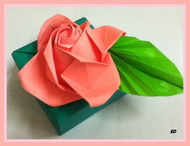 Wts Origami Kusudama Icosahedron Rose Box