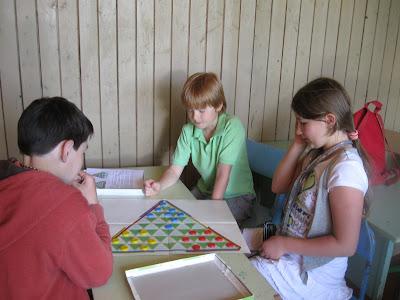 трёхсторонние шашки